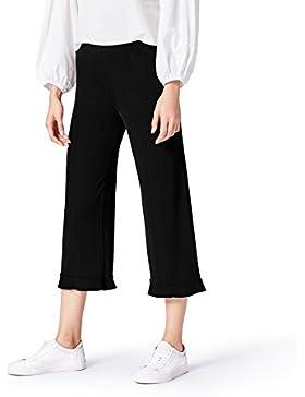 FIND Pantalones Anchos Plisados para Mujer