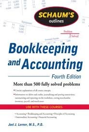 Schaum's Outline of Bookkeeping and Accounting 4th (forth) edition