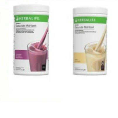 Herbalife Gesunde Mahlzeit 2 x 550 g (Vanille & Himbeere-Blaubeere) - Vanille Gesund