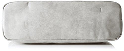 Tamaris Damen Twiggy Shoulder Bag Schultertasche, Einheitsgröße Grau (Grey)