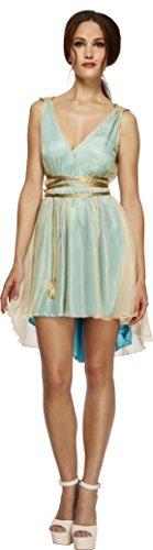 Smiffy's 27894S - Fever griechische Königin-Kostüm mit Kleid und Gürtel