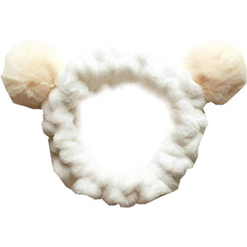Br-kosmetik (Make up Stirnband Super Weiches Kosmetik Haarband Spa Stirnband Haarreif aus Flanell für Sport Spa Gesichtsreinigung Gesichtspflege)