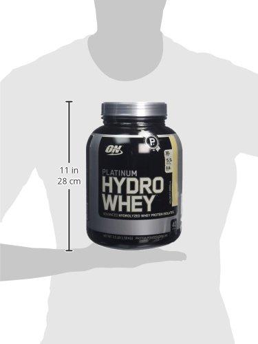 Optimum Nutrition Protéine Platinum Hydro Whey Vanille 1590 g