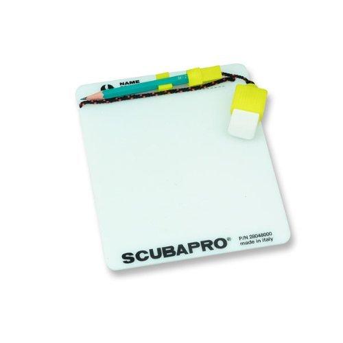 Schreibtafel UW mit Bleistift und Radirgummi fluor