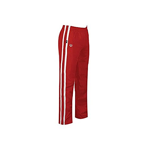 arena fribal OL Warm Up Hose, Herren, rot/weiß, X-Large - Sportliche Warm-up-hose