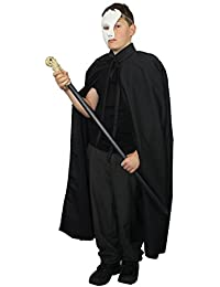 The Dragons Den Childs Phantom Of the Opera Fancy Dress Costume Age 8-12