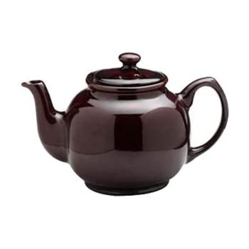 Price & Kensington Rockingham 10 Cup Teapot, Brown