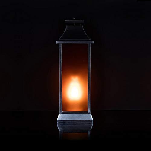 men Beleuchtung und Timer - OUTDOOR geeignet - Flammeneffekt (Orange, 50 cm) ()