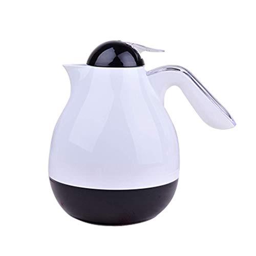 MYXMY Thermische Karaffe aus Edelstahl für Lebensmittelqualität/doppelwandige, vakuumisolierte Kaffeekanne, 24 + Stunden Wärme- und Kältespeicherung, BPA-frei, für Kaffee, Tee, Getränke usw. - Kaffee-tee-thermische Karaffe
