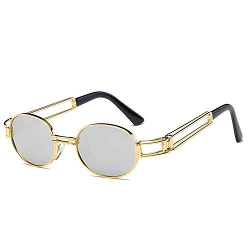 Wenkang Männer Frauen Sonnenbrillen Designer Metallrahmen Sonnenbrille Brillen Shades UV400,5