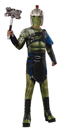 Rubie's Offizielles Hulk-Kostüm, Marvel, Ragnarok, Krieg, Deluxe-Kostüm für - Loki Kinder Kostüm