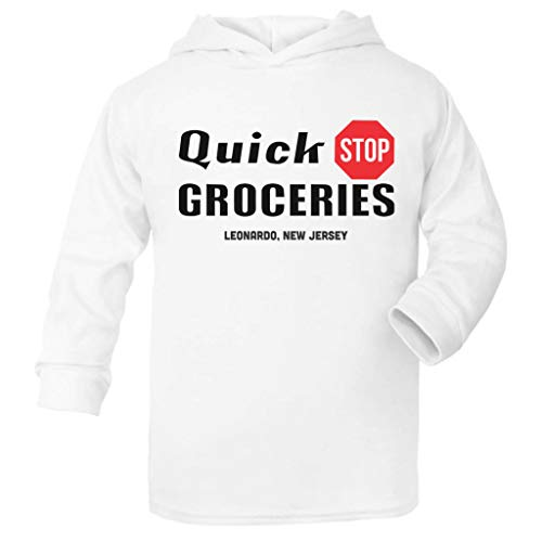 Cloud City 7 Quick Stop Groceries Leonardo NJ Clerks Baby and Kids Hooded Sweatshirt