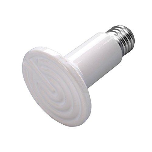 LC Prime Keramik Wärme Lampe, Heizung Keramik Lampe Einsatz Tag und Nacht,für Schlangen Frösche Ceramics White, by