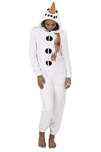 Unbekannt Damen Pyjama aus weichem Fleece, Tiermotiv Gr. 48/50 DE X-Large, ()