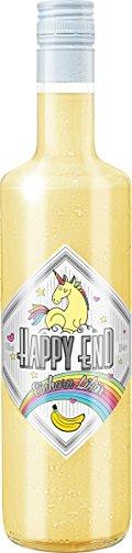 Happy End Einhorn-Likör Banane Sahne 0,7 l | Alles banana oder was? Der einhorntastische Banane-Sahne Einhornlikör ist ab sofort erhältlich| Ideal als Geschenk zum Geburtstag, Hochzeit, Abi-Feier| Nicht nur für Prinzessinnen - schmeckt auch den Prinzen| Verzaubert auch Deine Sinne!