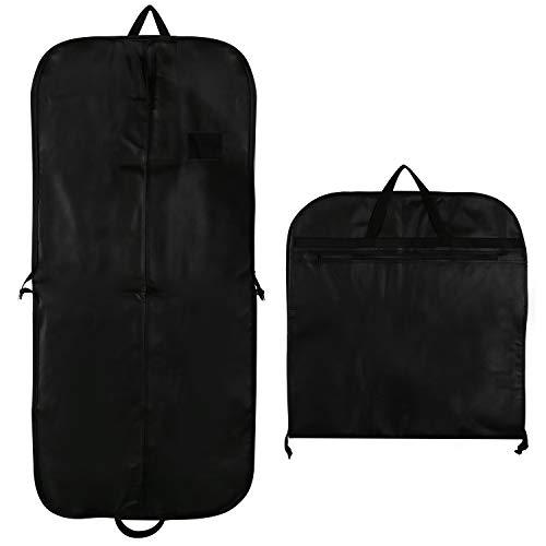 SPARKSOR Kleidersack,Atmungsaktiver Reise Kleidersack mit Tragegriffen und Druckknopfverschlüssen/Stabiler hochwertiger Anzugsack/Anzugtasche/Anzug Aufbewahrung Kleidertasche/Garment Bag- 60 cm * 137