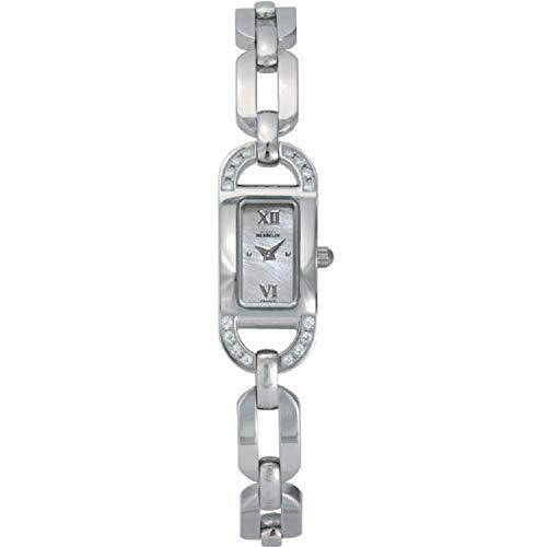 Michel Herbelin Women's Steel Bracelet & Case Quartz Analog Watch 1071/16YB19