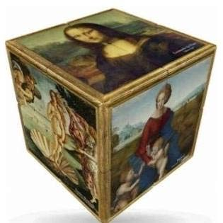 VCUBE Renaissance V Cube 2x2 Magic Cube Platte Frühling beiläufige Baby-Spiel 303