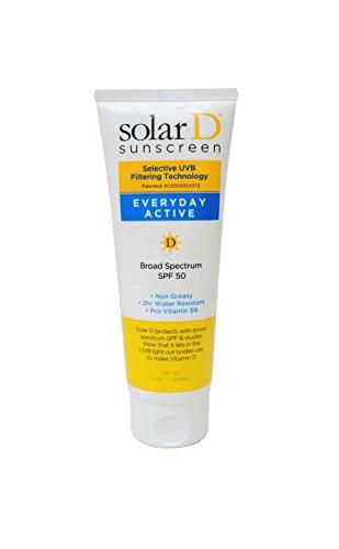 Solar D Everyday Active SPF50Sunblock, 100ml