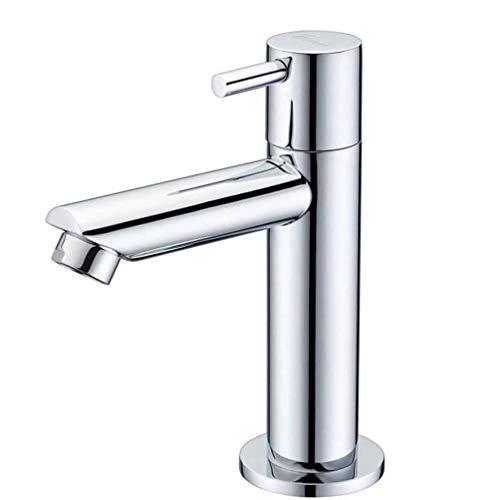 Preisvergleich Produktbild AILING Becken Wasserhahn,  Bad Wasserhahn,  Kupfer Einzigen Kalten Becken Wasserhahn,  Sanitärkeramik