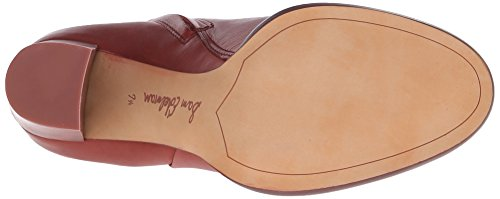 Sam Edelman Reyes Cuir Bottine Rust