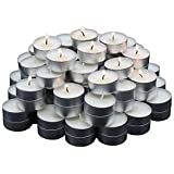 SLICETER Set Of 100 PCS Premium Tea Light Candles Smokeless 4.5 Hrs Burning 100% Pure