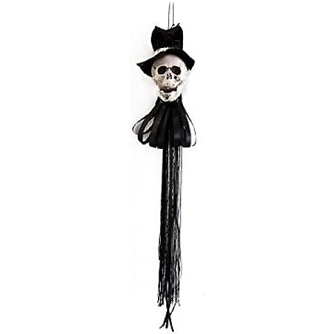 Disfrazzes - Novio gótico colgante para decoración de halloween