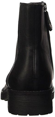 Geox D NEW VIRNA D, Bottes de motard courtes, doublure froide femme Schwarz (BLACKC9999)
