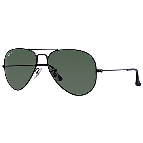 ray-ban-gafas-de-sol-aviador-rb3025-aviator-large-metal-black-schwarz