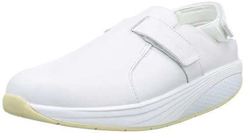 MBT Flua White/35, Zoccoli da Lavoro Unisex-Adulto, Bianco (White 16)