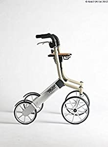 Able2 Lets Go Out Rollator - Beige/Siver