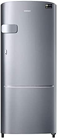 Samsung 230 L 3 Star with Inverter Single Door Refrigerator (RR24A2Y2YS8/NL, Elegant Inox)