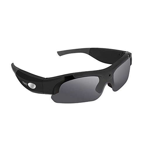 OOZIMO HD 1080P cámara Gafas 8.0MP Pixels videocámara