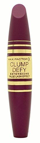 Max Factor Clump Defy Volumising Mascara Schwarz – Langanhaltende Wimperntusche für perfekten Schwung ohne zu verklumpen – 1 x 13 ml