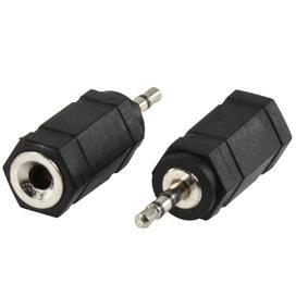 5 Ac Adapter (Valueline ac-018Stereo-Audio-Adapter Jack 3.5mm Weiblich auf Klinke 2.5mm Stecker (schwarz))