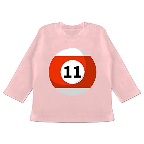 12 18 Monate Kostüm Elf - Karneval und Fasching Baby - Billardkugel 11 Kostüm - 12-18 Monate - Babyrosa - BZ11 - Baby T-Shirt Langarm