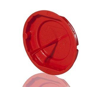 f-tronic Signaldeckel für Unterputz-Gerätedose, E120, Inhalt: 50, Stück