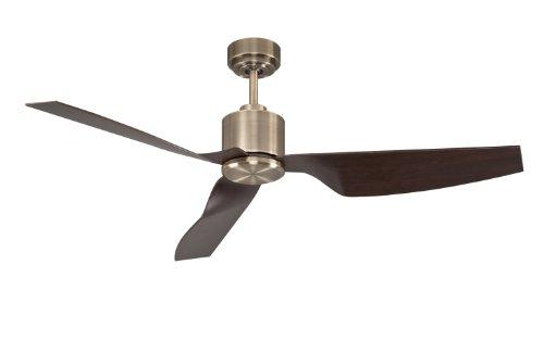 Lucci Air Deckenventilator Airfusion Climate II, DC Motor energiesparend inklusive Fernbedienung, 6 Geschwindigkeiten, 127 cm Durchmesser, 3 Flügel, 210526 (Motor Air)
