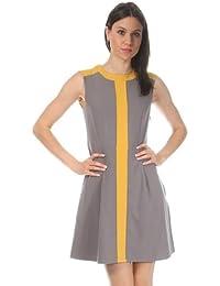 Nife Women Dress brown Mocca S27R38MO-mocca