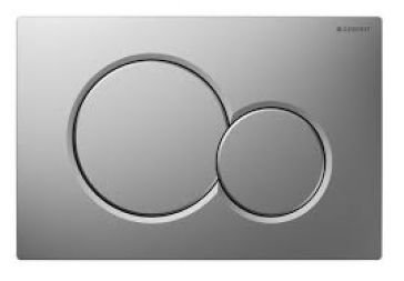 Dual Flush Plate (Geberit 115.770.46.5 Dual-Flush Actuator Plate, Matte Chrome by Geberit)