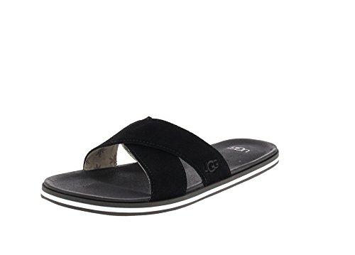 UGG Zapatos Beach Sandalias Chanclas Negro Hombre 44.5 Negro