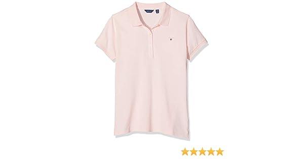 Gant The Original Pique Rugger Girls T-shirt Polo Shirt Nantucket Pink
