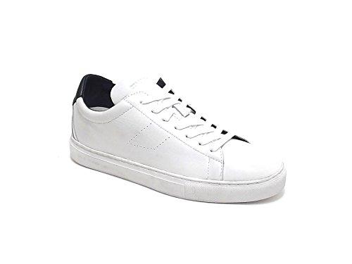 Crime scarpa uomo, modello 11220, sneaker in pelle , colore bianco