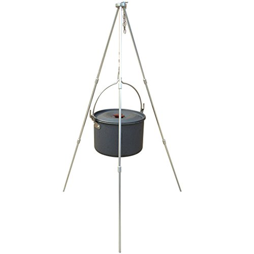 MyLifeUNIT Dutch Oven & Tripod, Campfire / Cookware / Camping