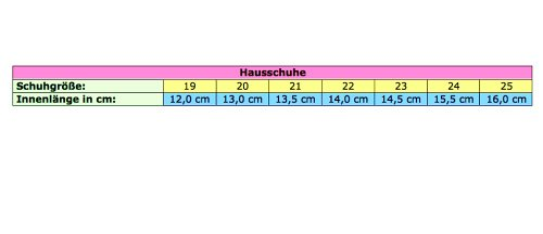 Hausschuhe 13-110, Karriert, Amaranth oder Amaranth/Polkadot, Gr 19 bis 25 (12 bis 16 cm) Amaranth
