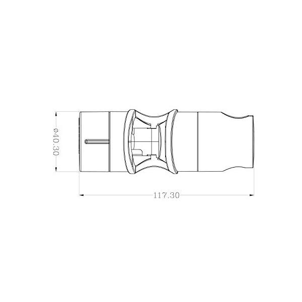 Aoleca-Ricambio-staffaDoccia-Supporto-Staffa-Per-Doccetta-Diametro-18-25-mm-Soffione-Doccia-ABS-cromo-accessori-bagno-regolabile