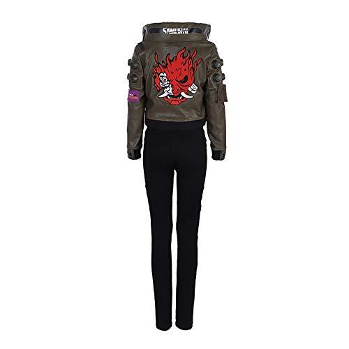 Glam Cos Cyberpunk 2077 - V (Charakter) weibliches Cosplay-Kostüm - - (Weibliche Videospiel Kostüme)