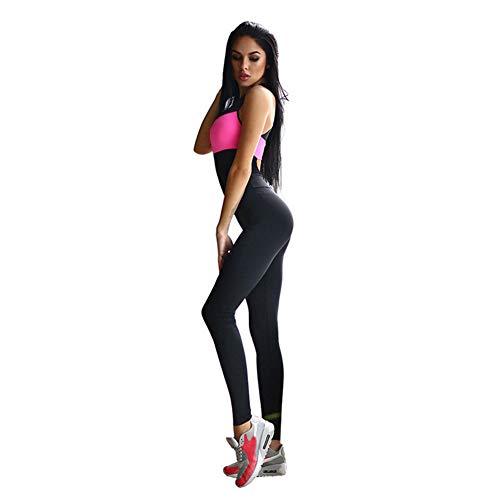 YDYL-LI Fitness Sport Anzug Frauen Trainingsanzug Yoga Set Backless Gym Running Set Sportbekleidung Leggings Enge Overalls Workout Sportbekleidung,S
