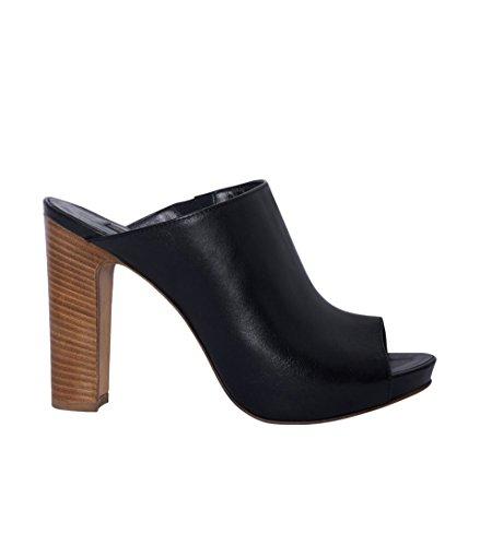 JANET & JANET Damen Schuhe Pumps High Heels - Glattleder Leder schwarz nero 40
