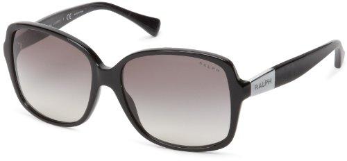 Ralph donna 0ra51651/11 occhiali da sole, nero (black/grey gradient), 57